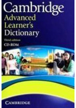 Advanced learner s dictionary