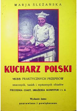 Kucharz polski reprint z 1932 r
