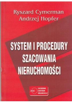 System i Procedury szacowania nieruchomości