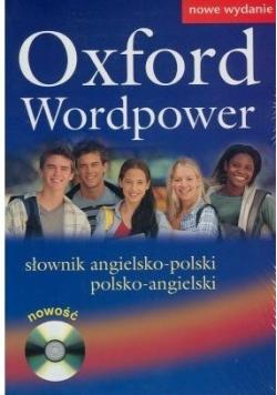 Oxford Wordpower Słownik angielsko polski polsko angielski + płyta CD Nowa