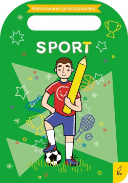 Kolorowanki przedszkolaka. Sport