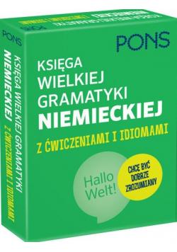 Księga wielkiej gramatyki niemieckiej z ćwiczeniami  i idiomami