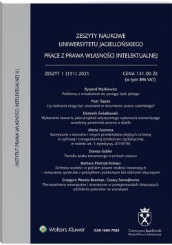 Zeszyty Naukowe UJ 1(151)/2021