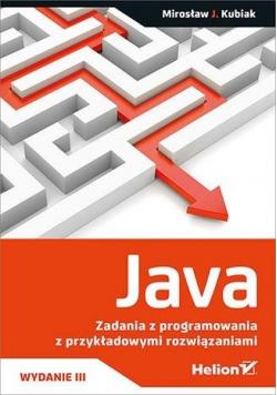 Java. Zadania z programowania przykładowymi.. w.3