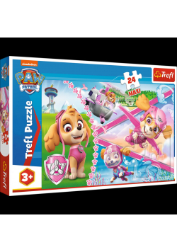 Puzzle 24 maxi Bohaterska Skye TREFL