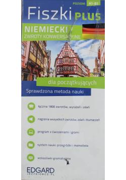 Fiszki Plus Niemiecki zwroty konwersacyjne dla początkujących