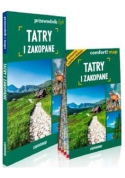 Tatry i Zakopane light: przewodnik + mapa