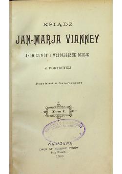 Ksiądz Jan Maryja Vianney 1900 r. 2 tomy