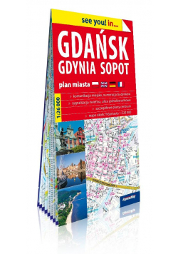 See you! in... Gdańsk, Gdynia, Sopot 1:26 000