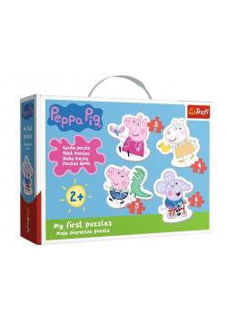 Puzzle Baby Classic - Urocza Świnka Peppa TREFL