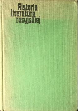 Historia literatury rosyjskiej 1 tom