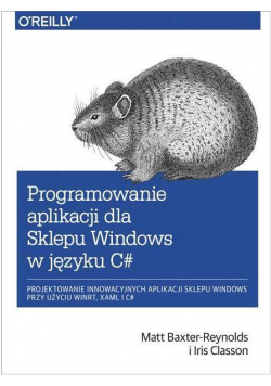Programowanie aplikacji dla Sklepu Windows w C#