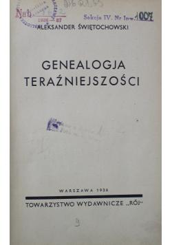 Genealogja teraźniejszości 1936 r.