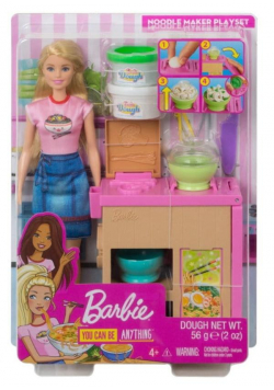 Barbie Zestaw Lalka + Domowy makaron