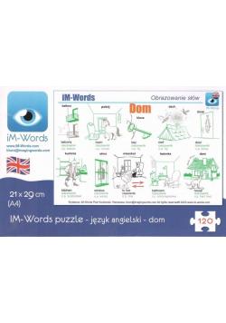 iM-Words Puzzle 120 Angielski - Dom