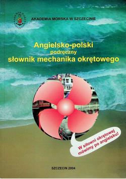 Angielsko polski podręczny słownik mechanika okrętowego