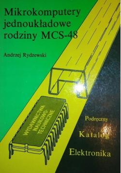 Mikrokomputery jednoukładowe rodziny MCS 48