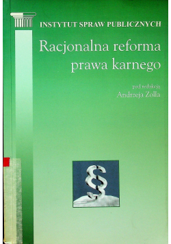Racjonalna reforma prawa karnego