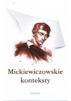 Mickiewiczowskie konteksty