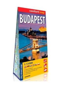 Comfort! map Budapeszt 1:13 000 mapa w.2019