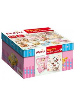 Ludattica Puzzle 8+1 Baby Puzzle The City 32