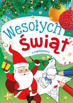Wesołych Świąt z naklejkami