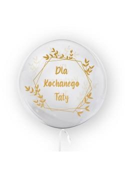 Balon 45cm Dla kochanego taty TUBAN