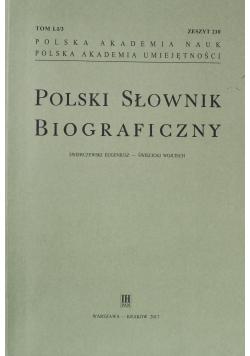 Polski Słownik Biograficzny Zeszyt 210