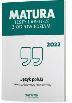 Matura 2022 Język polski Testy i arkusze ZPR