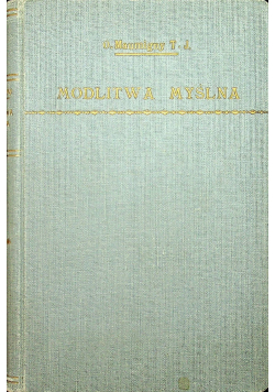 Modlitwa Myślna 1931 r.