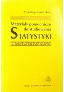 Materiały pomocnicze do studiowania statystyki