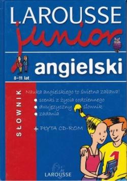 Larousse junior słownik angielski  plus CD