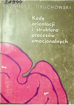 Kody orientacji i struktura procesów emocjonalnych