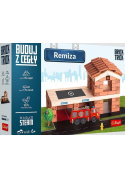 Brick Trick Buduj z cegły Remiza TREFL NOWA