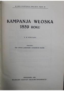 Kampanja włoska 1859 roku 1928 r.