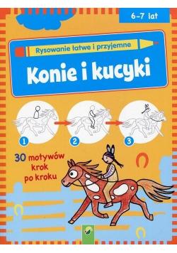 Rysowanie łatwe i przyjemne. Konie i kucyki
