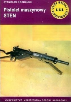Typ broni i uzbrojenia Nr  111 Pistolet maszynowy STEN