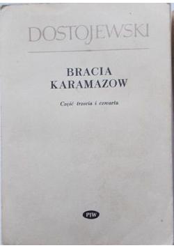 Bracia Karamazow Część trzecia i czwarta