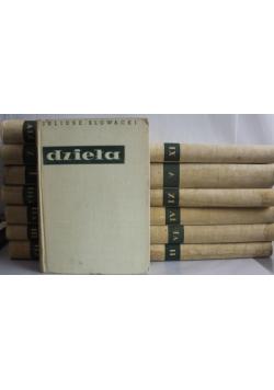 Słowacki dzieła 14 tomów