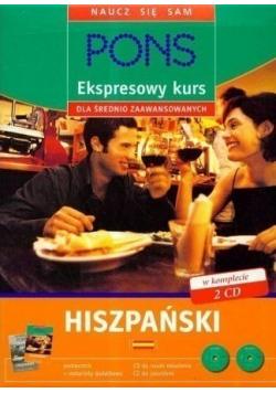 Ekspresowy kurs dla średnio zaawansowanych Hiszpański + 2 płyty CD
