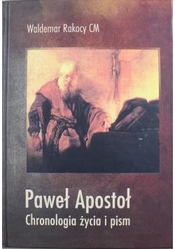 Paweł Apostoł Chronologia życia i pism