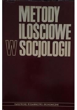 Metody ilościowe w socjologii
