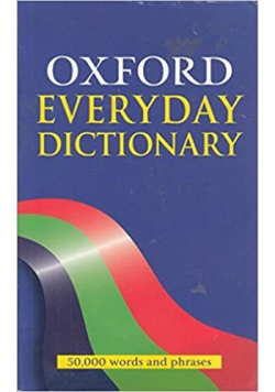 Oxford Everyday Dictionary