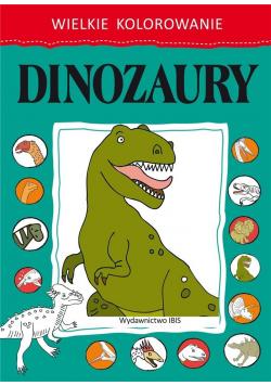 Wielkie kolorowanie. Dinozaury