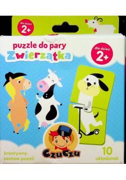 Puzzle do pary Zwierzątka 2 +