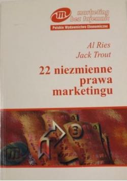 22 niezmienne praw marketingu