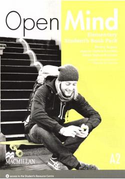 Open Mind Elementary A2 SB + DVD MACMILLAN
