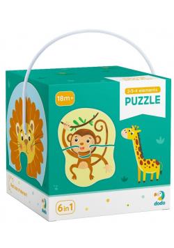 Puzzle 2-3-4 Zwierzęta