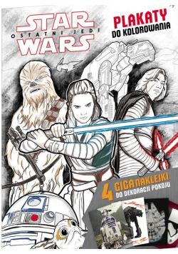Star Wars Plakaty do kolorowania