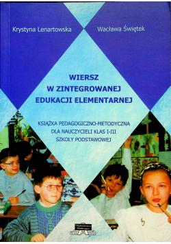 Wiersz w zintegrowanej edukacji elementarnej